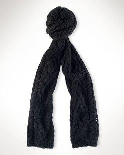 Lauren Ralph Laure - Ombré Aran Knit Scarf