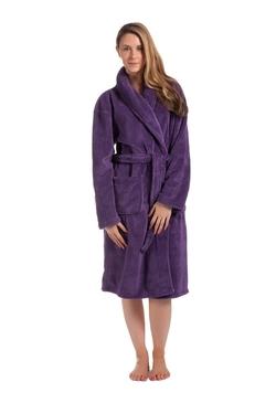 Job Lots (UK) Ltd - Ladies Plain Waffle Gown Robe