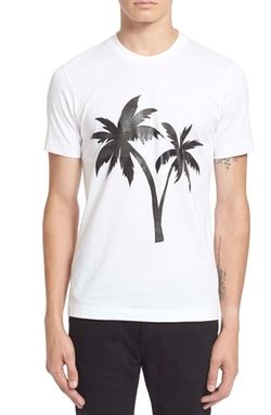 PS Paul Smith  - Palm Tree Graphic T-Shirt