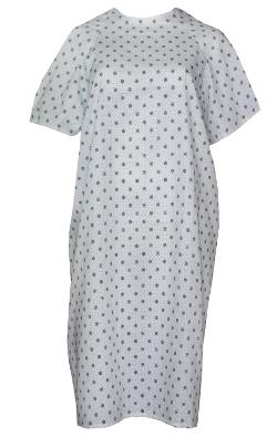 Nobles Health Care Products  - Velcro Brand Hospital Gown-medical Gown