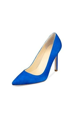 Ivanka Trump - Carra Blue Suede Pumps