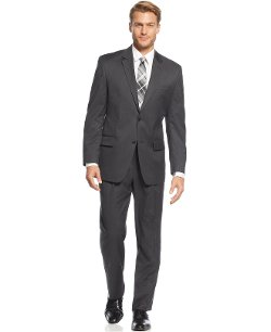 Izod - Charcoal Solid Suit