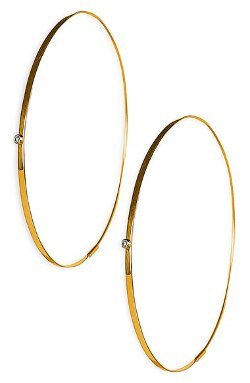 Lana Jewelry  - Diamond Hoop Earrings