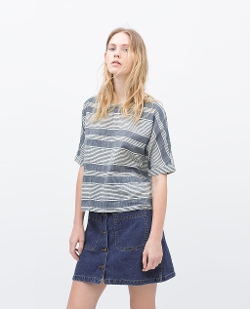 Zara - Striped blouse