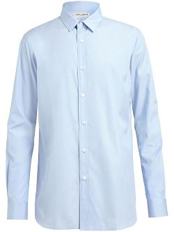 Saint Laurent  - Slim Fit Poplin Shirt
