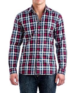 Rose - Checkered Sport Shirt