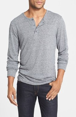 The Rail - Heathered Jersey Henley