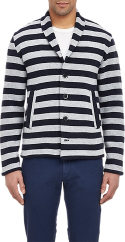 Barena Venezia - Mixed-Stripe Sweater Jacket