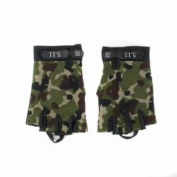 BBQ Buy - Military Camo Durable Fingerless Gloves