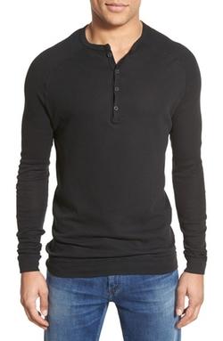 Agave  - Bishop Pima Cotton Henley Shirt