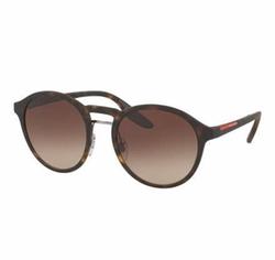 Prada  - Round Double-Bridge Sunglasses