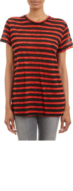 Proenza Schouler  - Mixed-stripe T-shirt