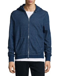 Rag & Bone - Basic Zip-Up Hoodie Jacket