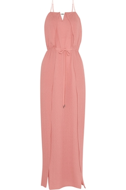 Halston Heritage  - Hammered Silk Maxi Dress