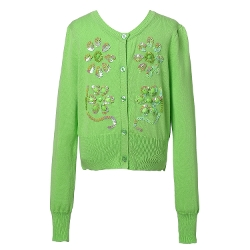 Richie House - Sweater Cardigan with Shiny Studs