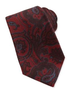 Kiton  - Paisley Wool/Silk Tie
