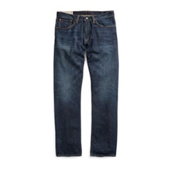 Ralph Lauren - Hampton Relaxed Straight Jean Dark Indigo 30