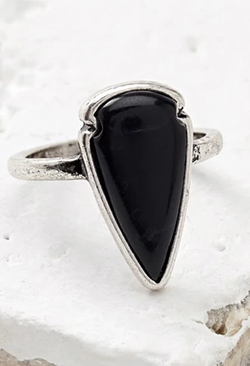 Forever21 - Faux Stone Arrowhead Ring