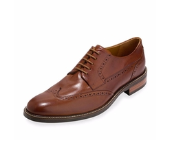 Cole Haan - Warren Leather Wing-Tip Oxford Shoes