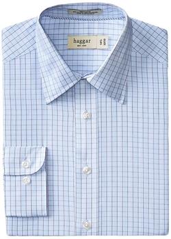 Haggar - Point-Collar Shirt