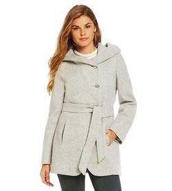 Jessica Simpson - Tweed Wrap Coat