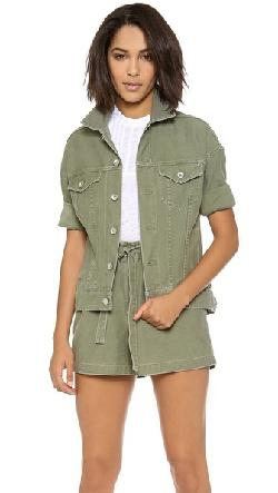 Steven Alan -  Oversized Nico Shirt Jacket