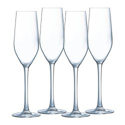 Luminarc - Hermitage 4-pc. Champagne Flute Set