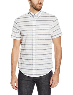 Original Penguin  - Horizontal Dobby Stripe Button-Down Shirt