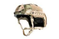 Bravo PJ Helmet  - High-Speed Tactical Helmet w/ Side Adapter Rails