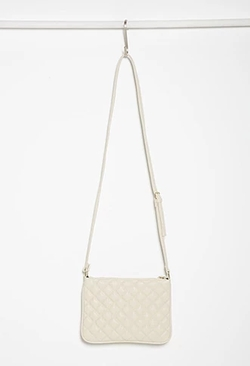 Forever 21 - Quilted Faux Leather Crossbody