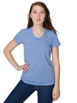 American Apparel  - Tri-Blend Short Sleeve Women