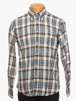 Hartford  - Vintage Madras Button Down Shirt