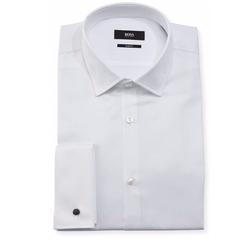 Boss Hugo Boss  - Jacques Slim-Fit Tonal-Dot Dress Shirt