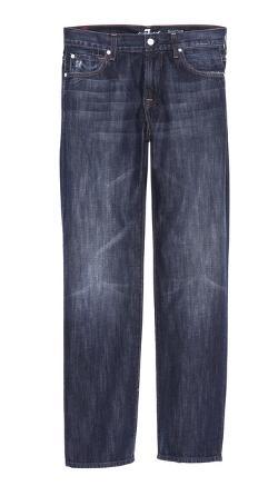 7 For All Mankind  - Austyn Long Straight Leg Jeans
