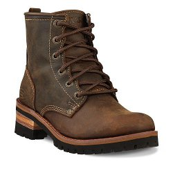 Skechers - Laramie Lace-Up Leather Boots