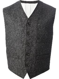 DOLCE & GABBANA - button down waistcoat