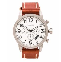 Tsovet - Leather Strap Watch