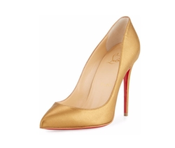 Christian Louboutin - Pigalle Follies Leather Red Sole Pumps