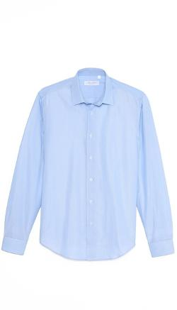 Mr. Start  - Pinstripe Oxford Shirt
