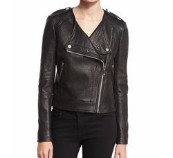 Diane von Furstenberg  - Tadessa Leather Biker Jacket