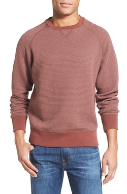 Billy Reid  - Quilted Crewneck Sweatshirt