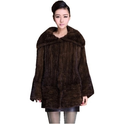 Bafei  - Genuine Mink Fur Coat