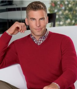 Jos A. Bank - Traveler Cashmere V-Neck Sweater