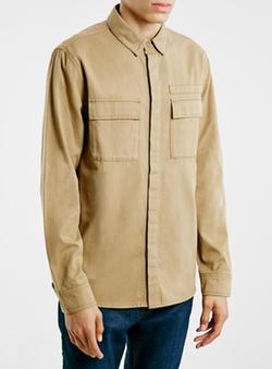 Topman - Ltd Stone Odin Utility Shirt