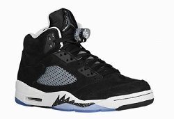 Nike  - Air Jordan 5 Retro Oreo Shoes