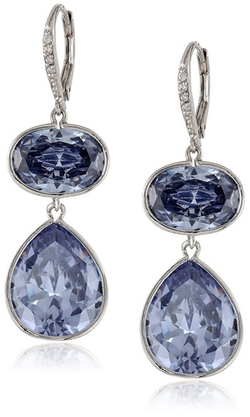 CZ by Kenneth Jay Lane - Lever-Back Drop Earrings