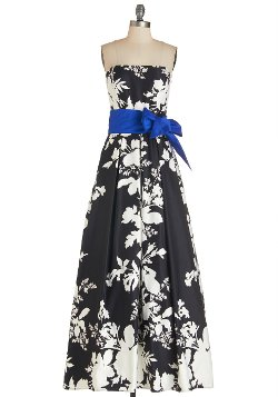 Modcloth - The Gift of Glamour Dress