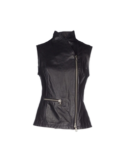 Cover Orciani  - Zip Leather Vest