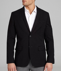 Perry Ellis - Slim-Fit Solid Jacket