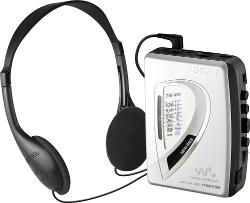 Sony  - WM-FX197 AM/FM Cassette Walkman
